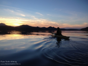 Breathe in the beauty and the health benefits. Lose heaviness. Gain happiness. Kayaking with Jacqui Engel. ©Jackie Hildering