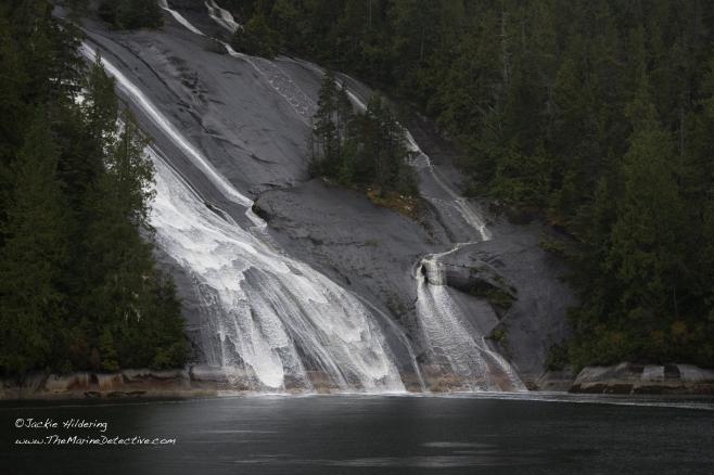 Lacey Falls, Broughton Archipelago. ©2016 Jackie Hildering.